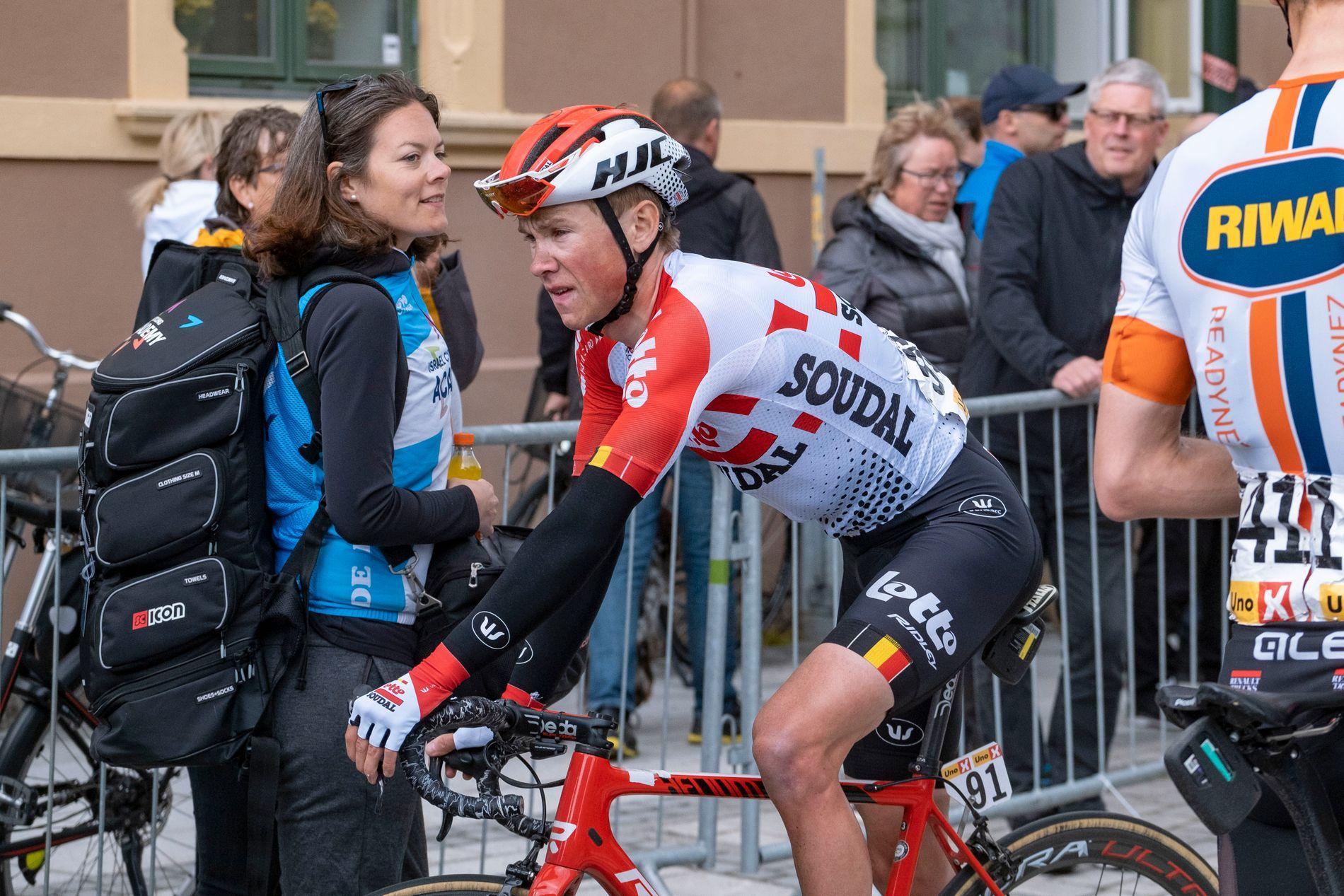 Carl Fredrik Hagen gjorde en ny god etappe i Spania torsdag.