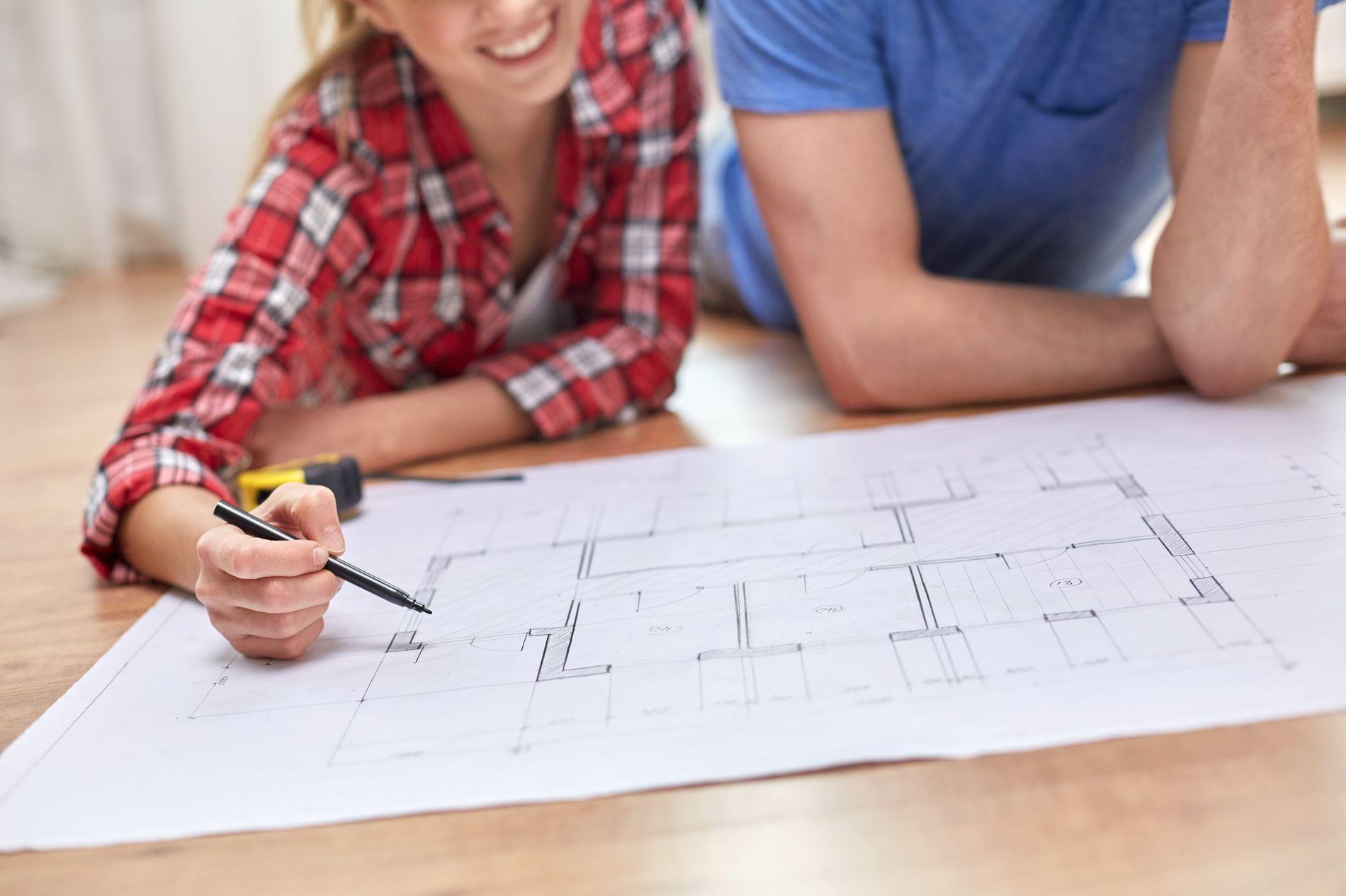 Velg byggtekniske løsninger og entreprenører med godt rykte.