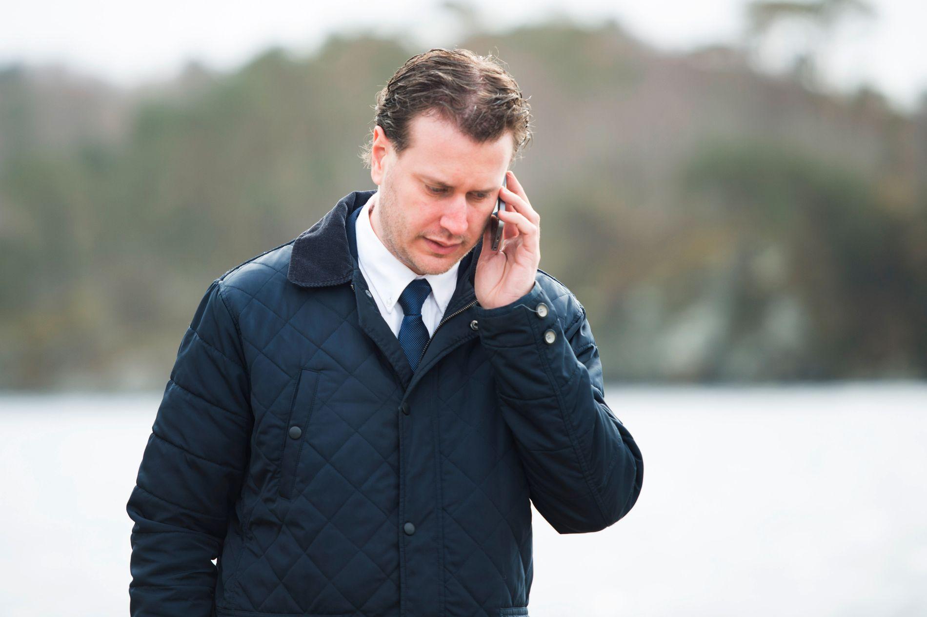 SENTRAL: I seks år var austevollingen Helge André Njåstad leiar for Frps organisasjonsutval, som handsamar varslingssaker i partiet. Han gjekk av i haust.