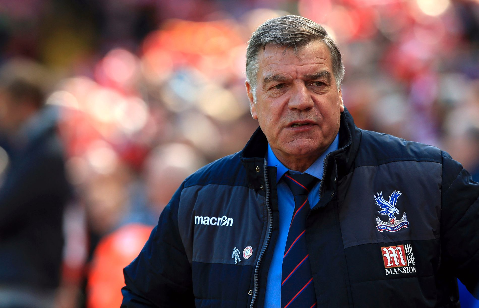 Sam Allardyce er nå trener i Premier League-klubben Crystal Palace.
