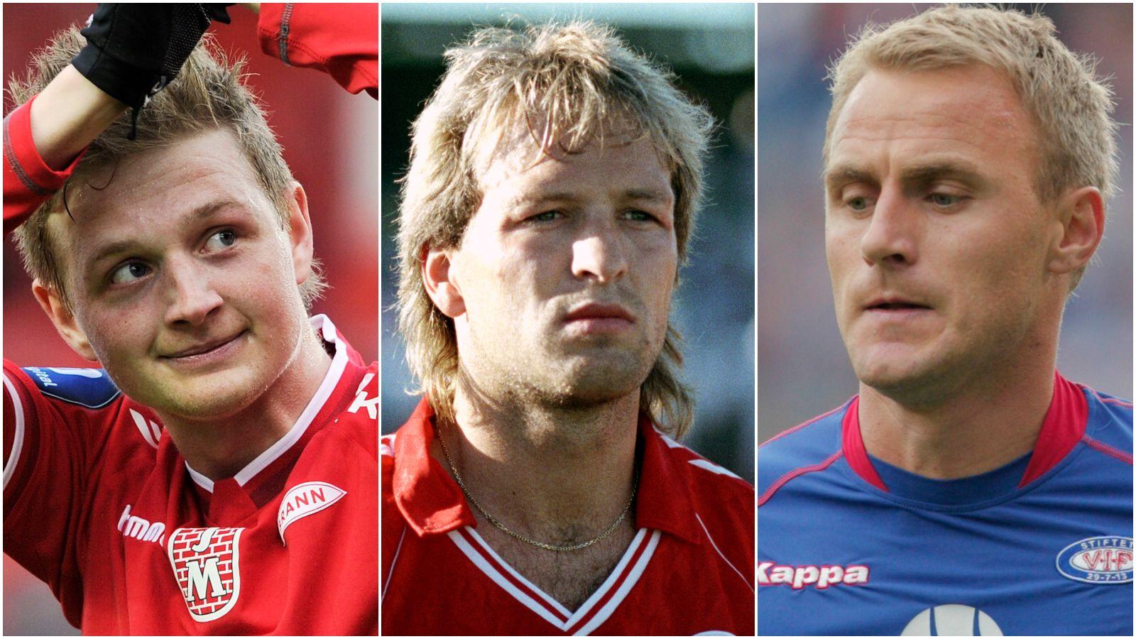 Erik Huseklepp, Gøran Sørloth og Bengt Sæternes har alle bøttet inn mål for sine klubber.