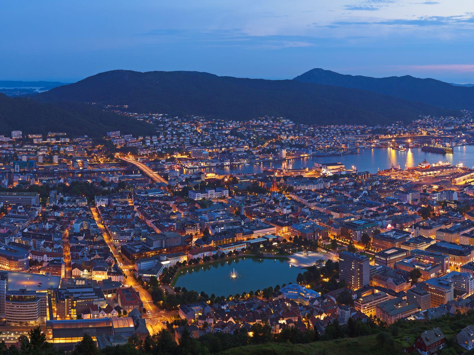 NÆR BYEN:  Alt som skjer i Bergen kan me i framtida tilby hurtigare frå Arna, enn det no tar å nå Fløyen eller Vidden frå sentrum, skriv innsendaren.