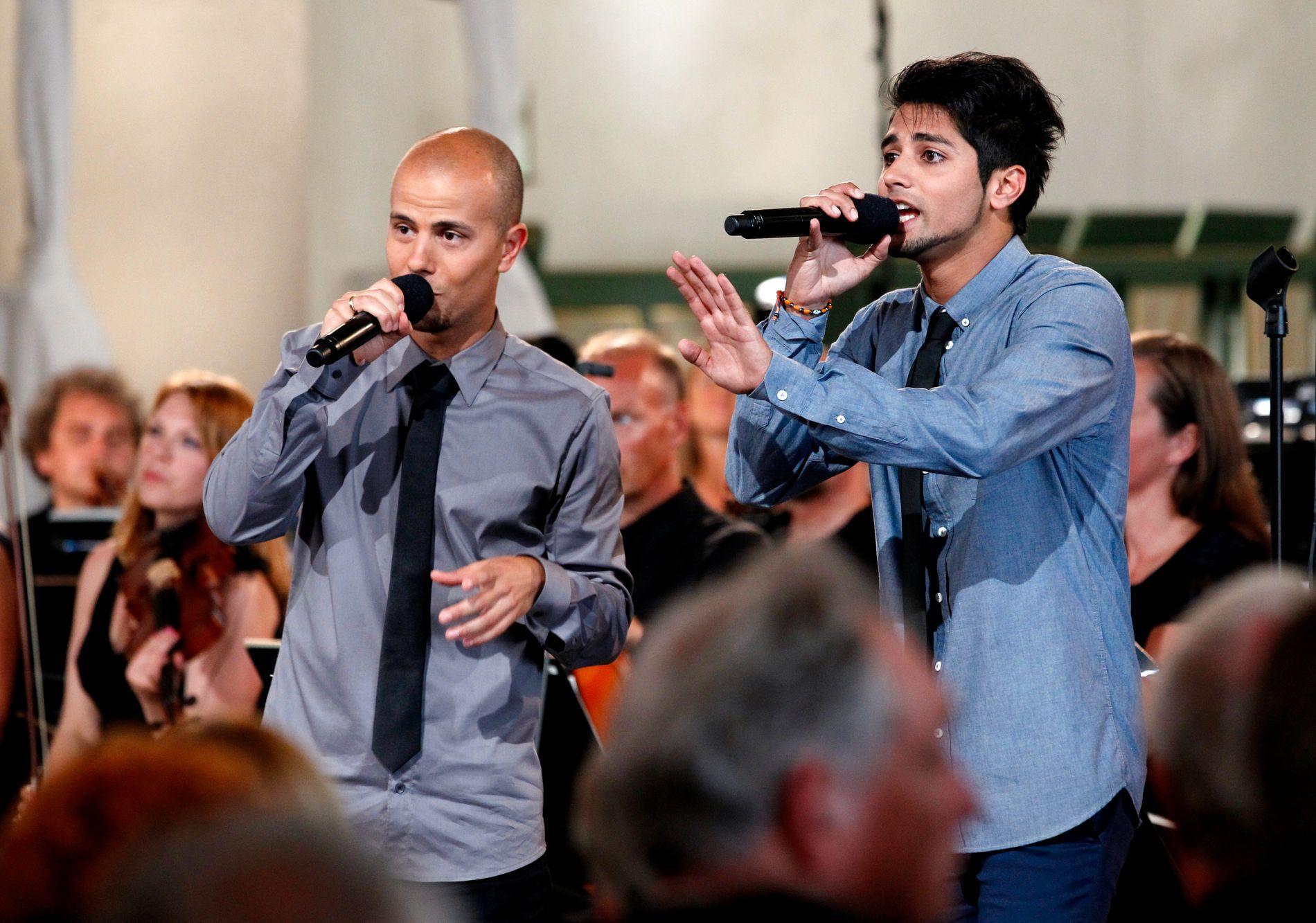 Carpe Diem synger i Oslo Domkirke lørdag under minnekonserten for ofrene etter terrorhandlingene mot Regjeringskvartalet og Utøya 22. juli.