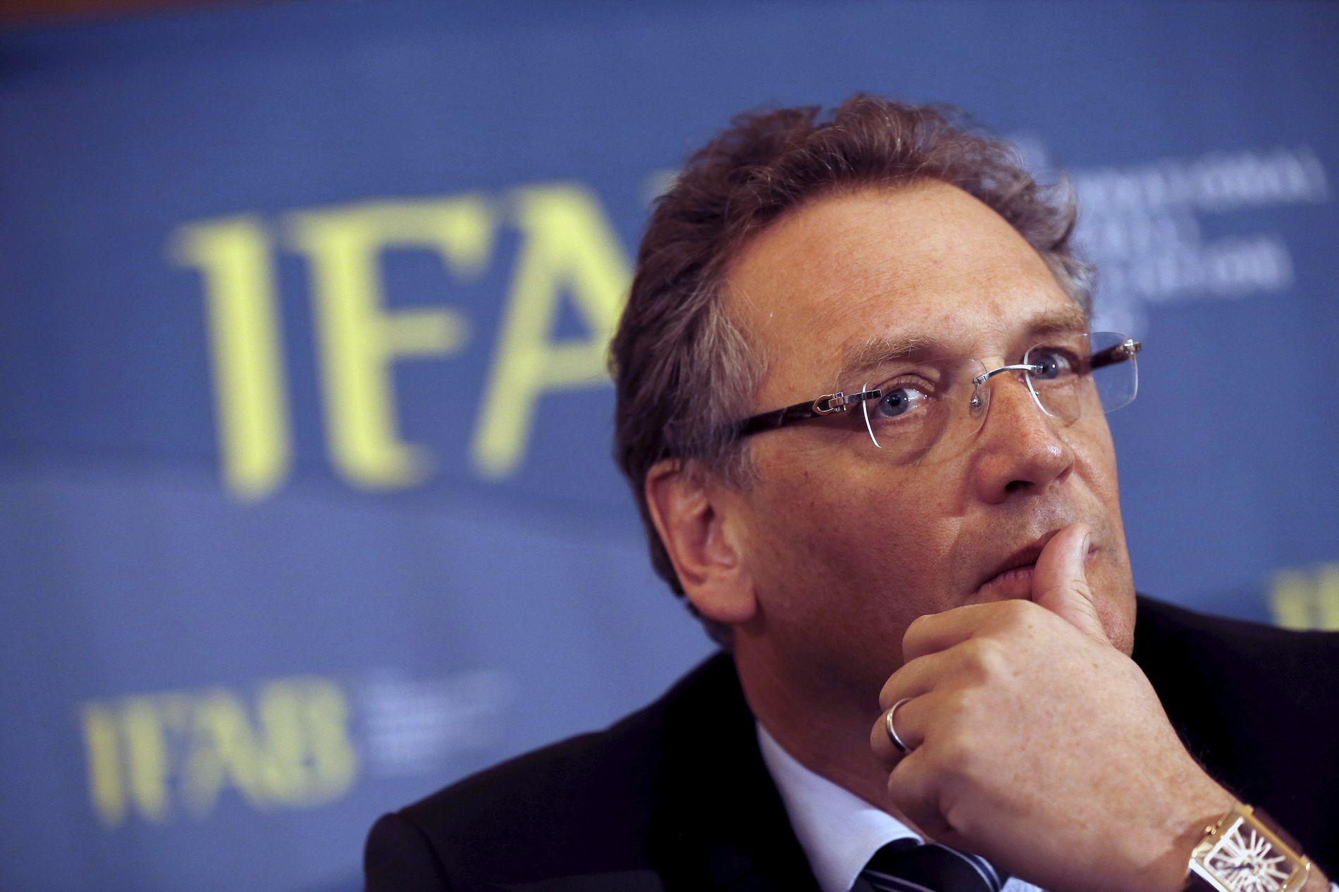 FIFAs generalsekretær Jérôme Valcke.