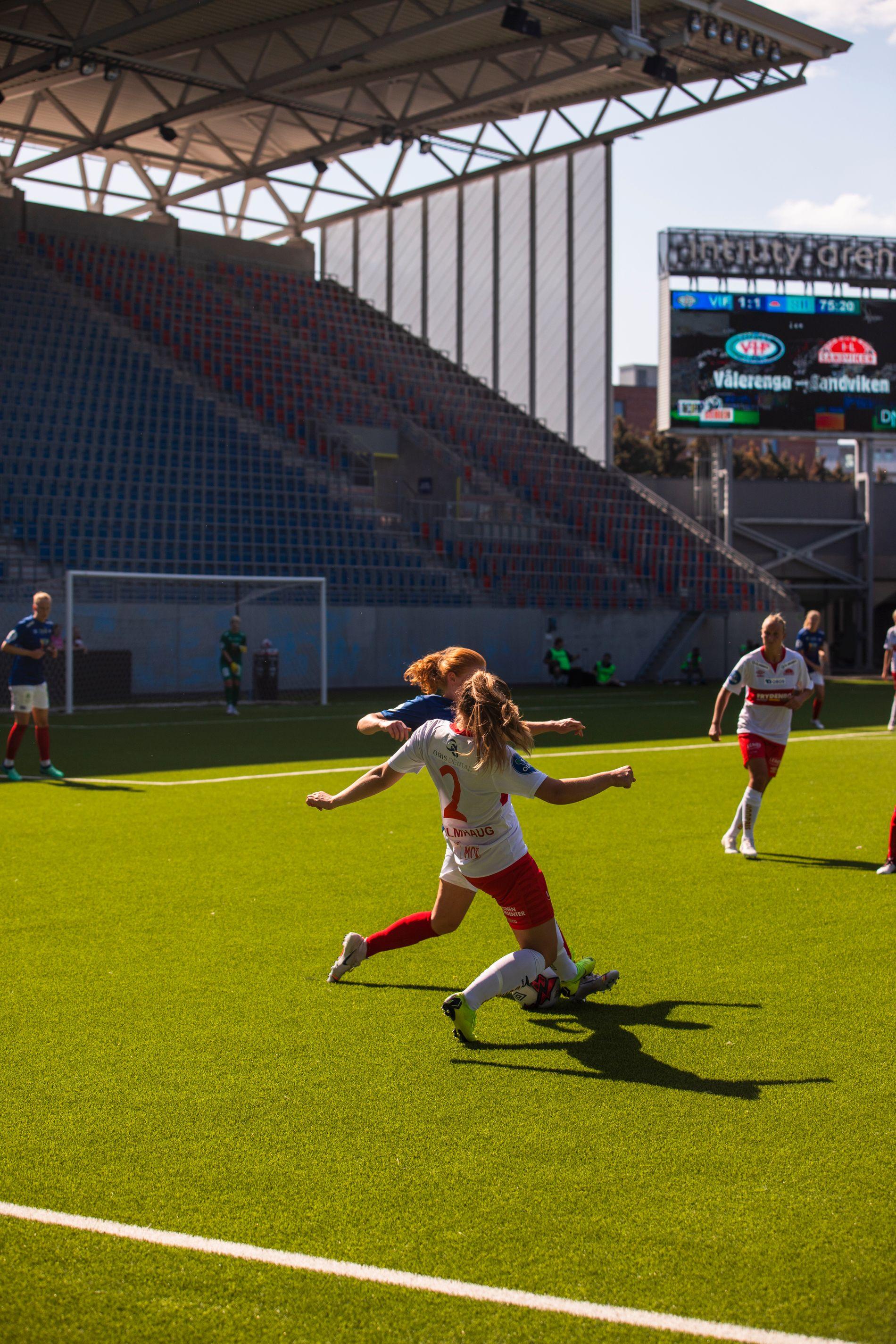 Kampen mellom Vålerenga og Sandviken endte 1–1.
