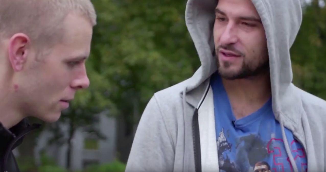 SEG SELV?: Både Lars Vaular og Leo Ajkic dukker opp i nettserien «Ekte mann», der de spiller versjoner av seg selv.