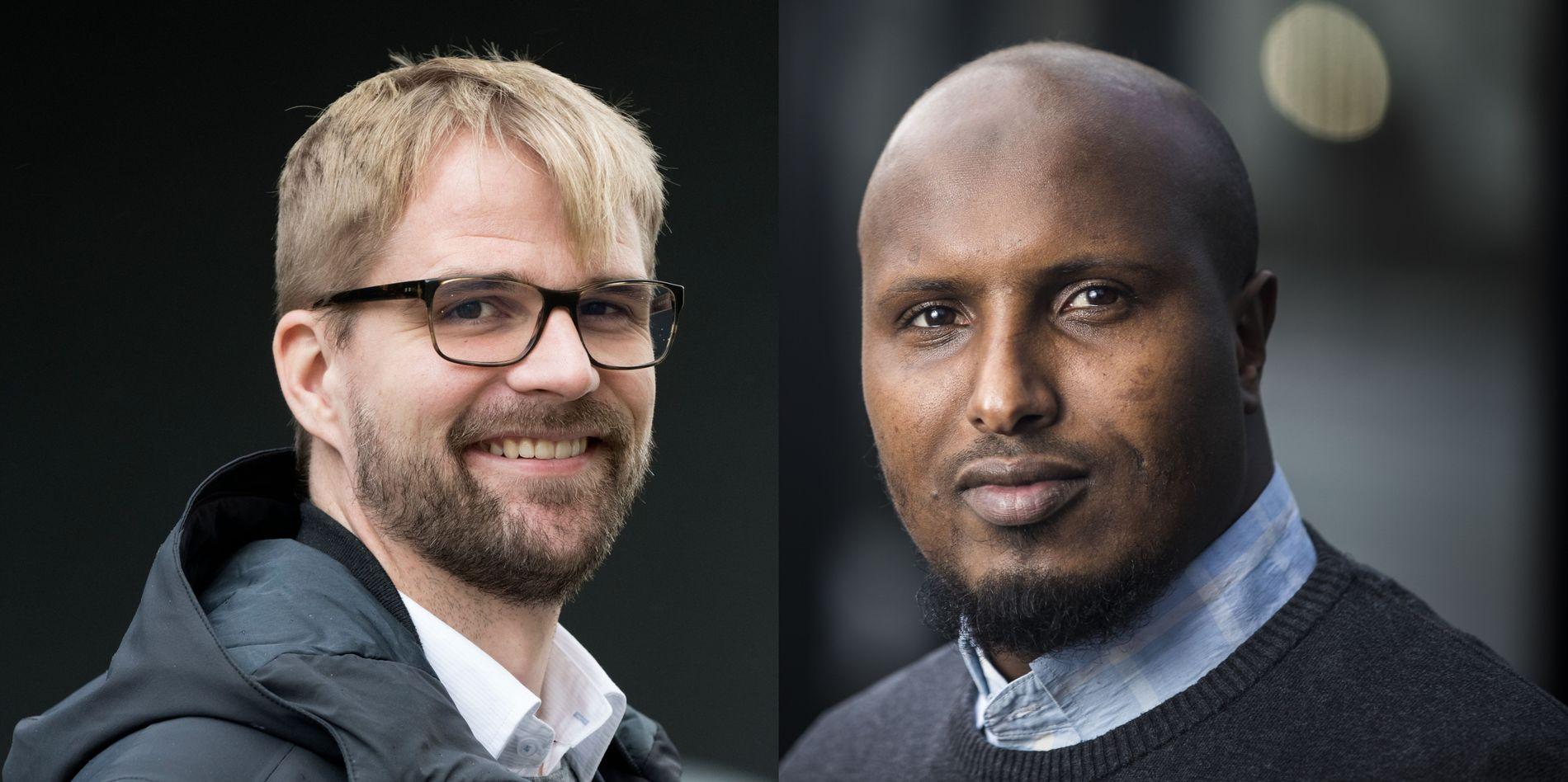 INTEGRERING: Manglende følelse av tilhørighet er et samfunnsproblem vi best kan løse i fellesskap, skriver Roger Valhammer og Abdullahi Ibrahim.
