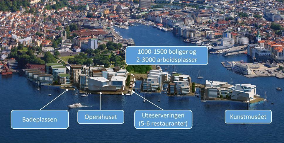 NY BYDEL: Planer om en helt ny bydel på Skolten og Bontelabo ble lansert for to år siden.
