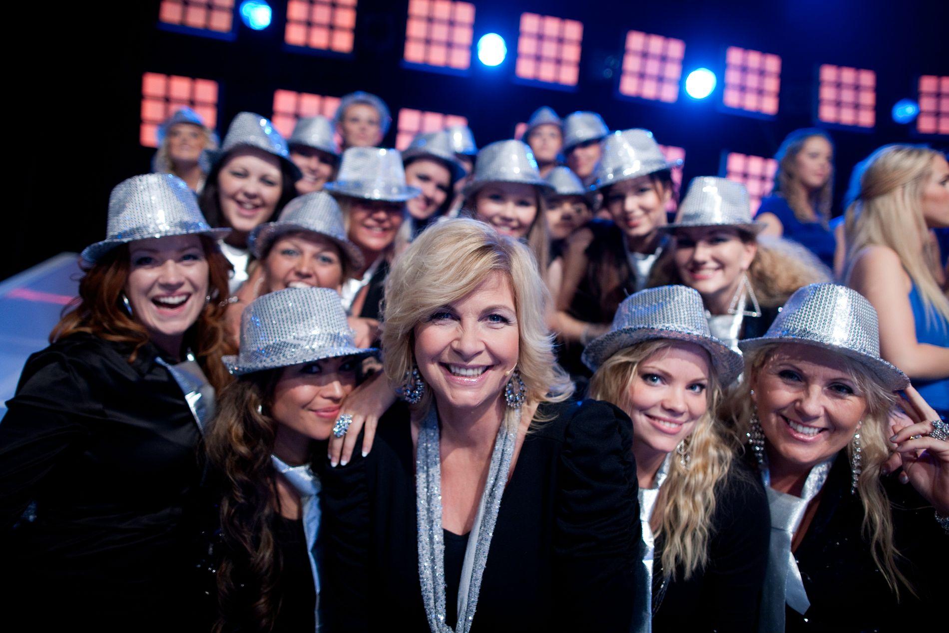 KOR E ALLE HELTAR HEN: I 2011 deltok Torhild Sivertsen i Det store korslaget på TV2. Får KrF det som dei vil, kan det bli meir korsong på tv frametter – rett nok av ein litt annan type.