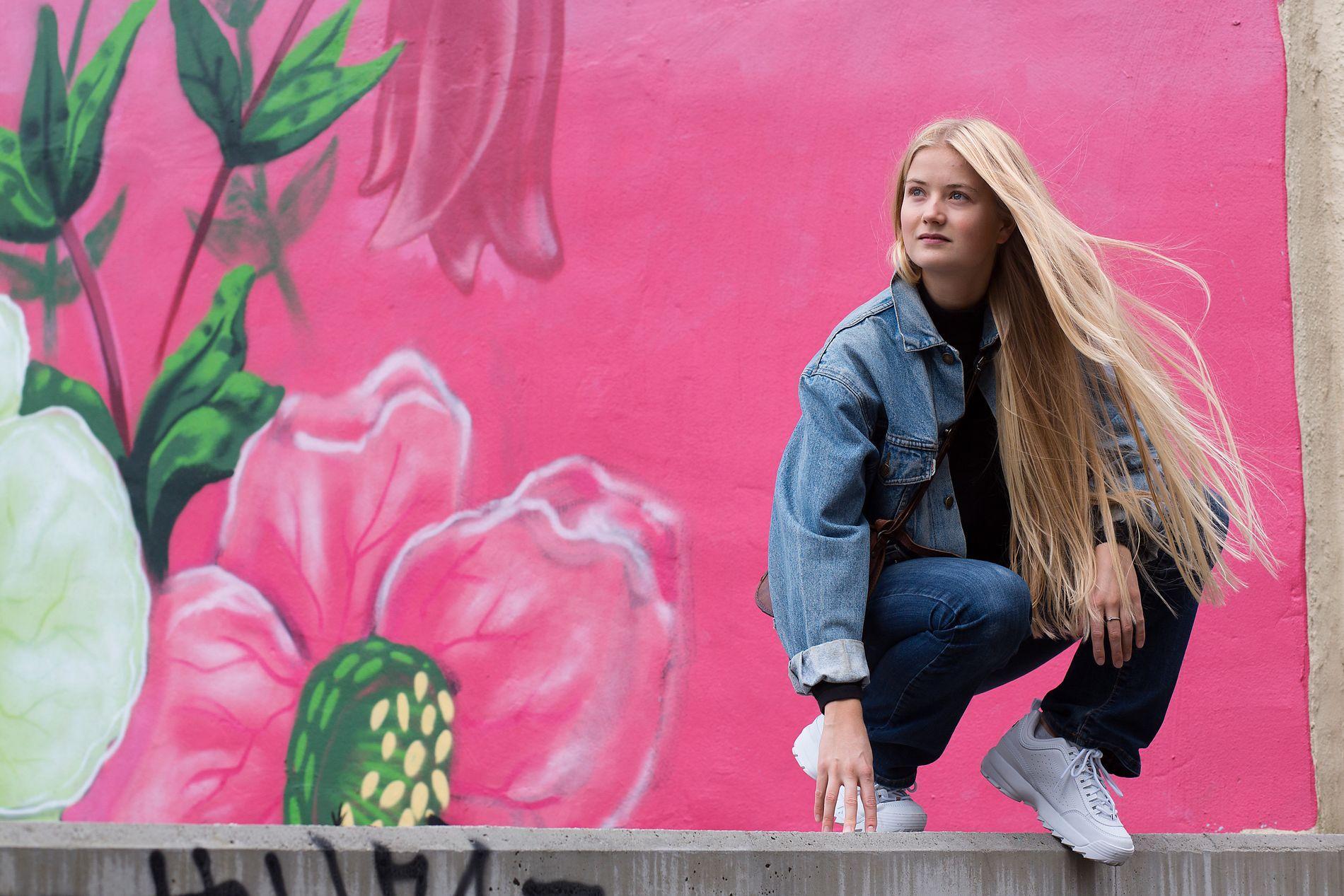 SPILLER PÅ TALENTFEST: Amalie Holt Kleive er blant artistene som spiller på årets Vill Vill Vest.