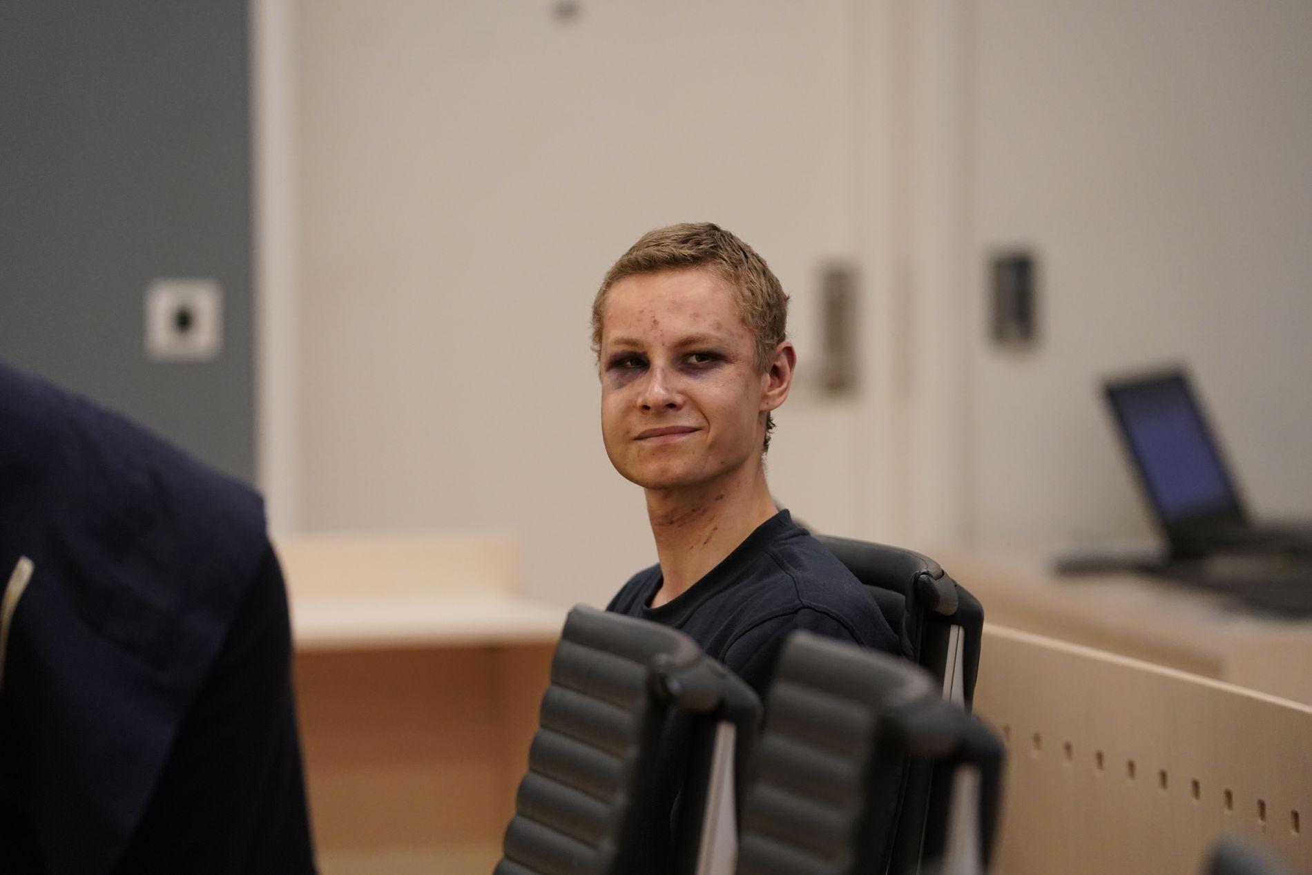 VARETEKTSFENGSLET: Philip Manshaus (21) er siktet for å ha drept sin egen stesøster