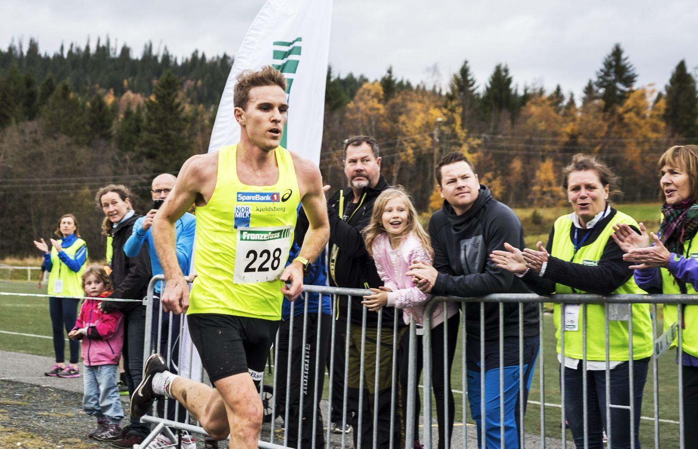Didrik Tønseth tok NM-gull i terrengløp i fjor.