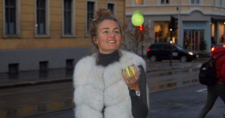 Thale Myhre er klar for tenniscomeback.