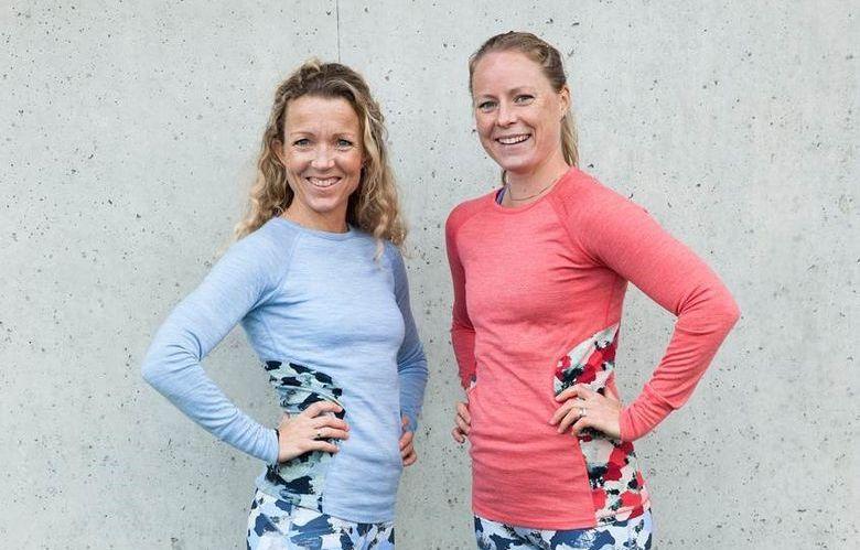 NETTMØTE: Cathrine Borchsenius, til venstre, og Helene Høimyr svarer på dine spørsmål om trening og helse.