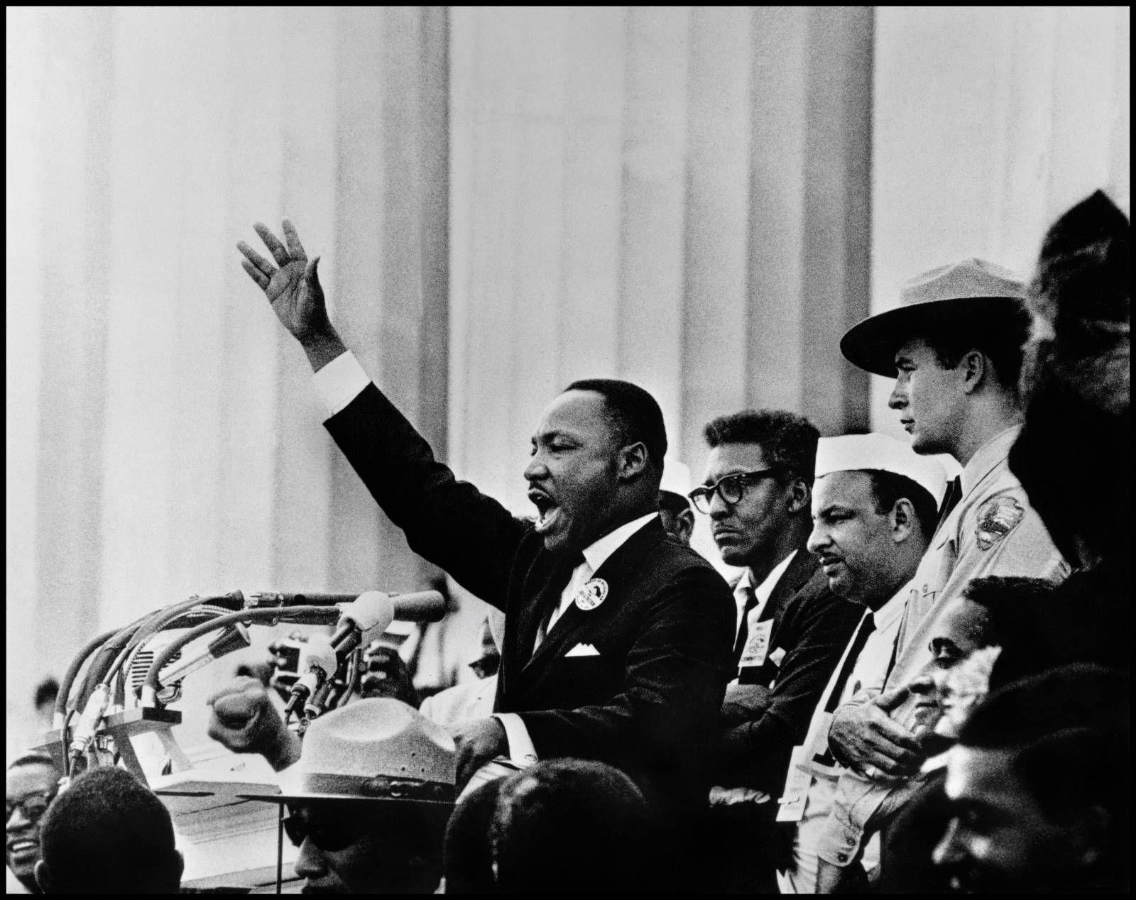 TRIUMF: Martin Luther Kings drømmer triumferte over alle forestillinger om at undertrykte mennesker alltid ville måtte bli «der nede». FOTO: Nobels Fredsenter