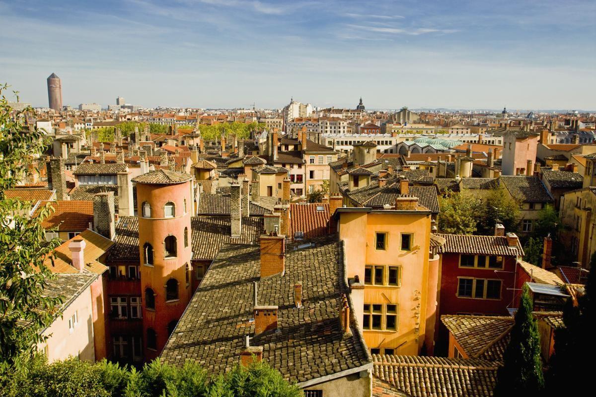 LYON: Hele gamlebyen i Lyon er på UNESCOs verdensarvliste. (Foto: Massimo Borchi / Corbis / NTB scanpix)