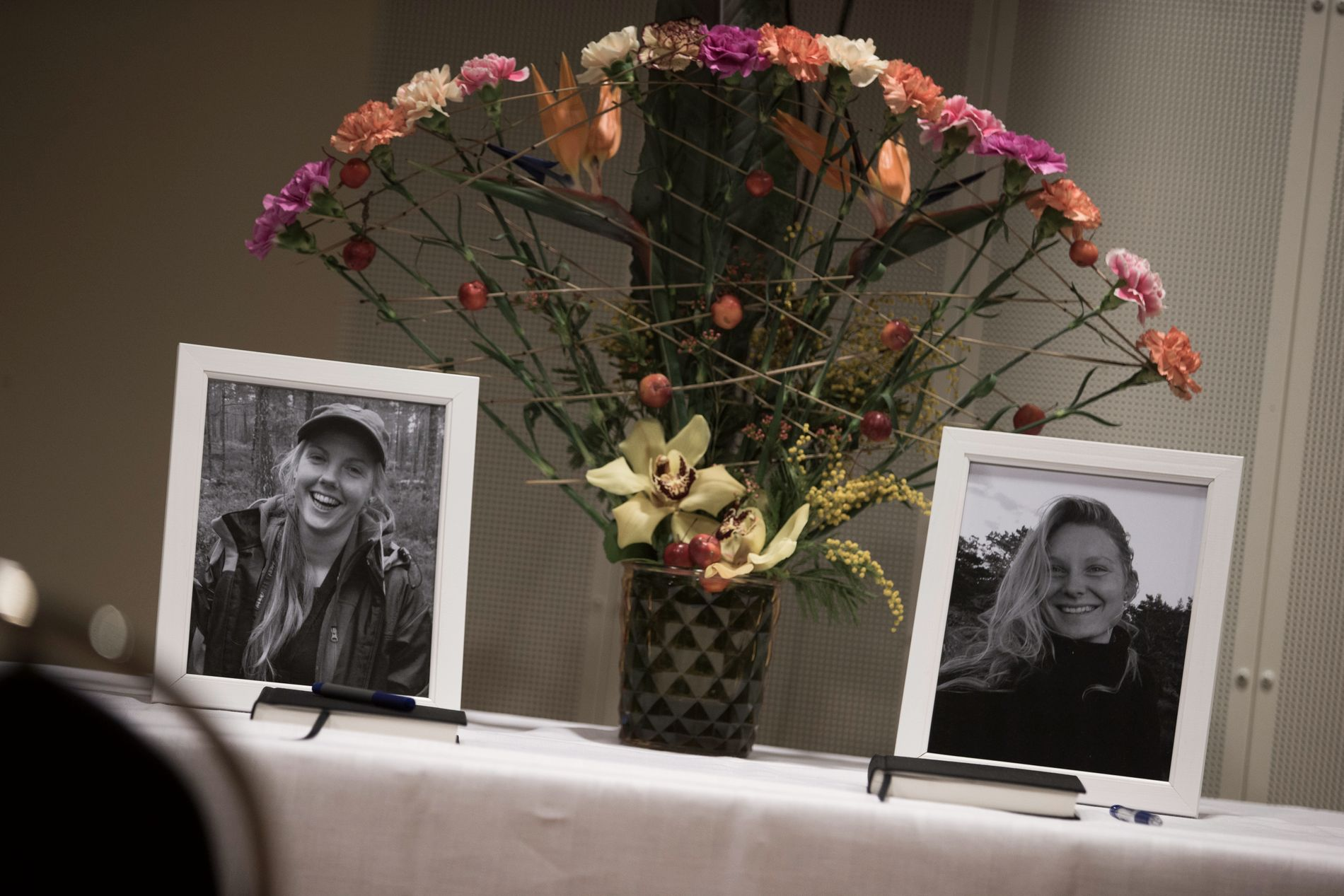 Maren Ueland og Louisa Vesterager Jespersen ble drept i Marokko i desember i fjor. Foto: Trond Reidar Teigen / NTB scanpix
