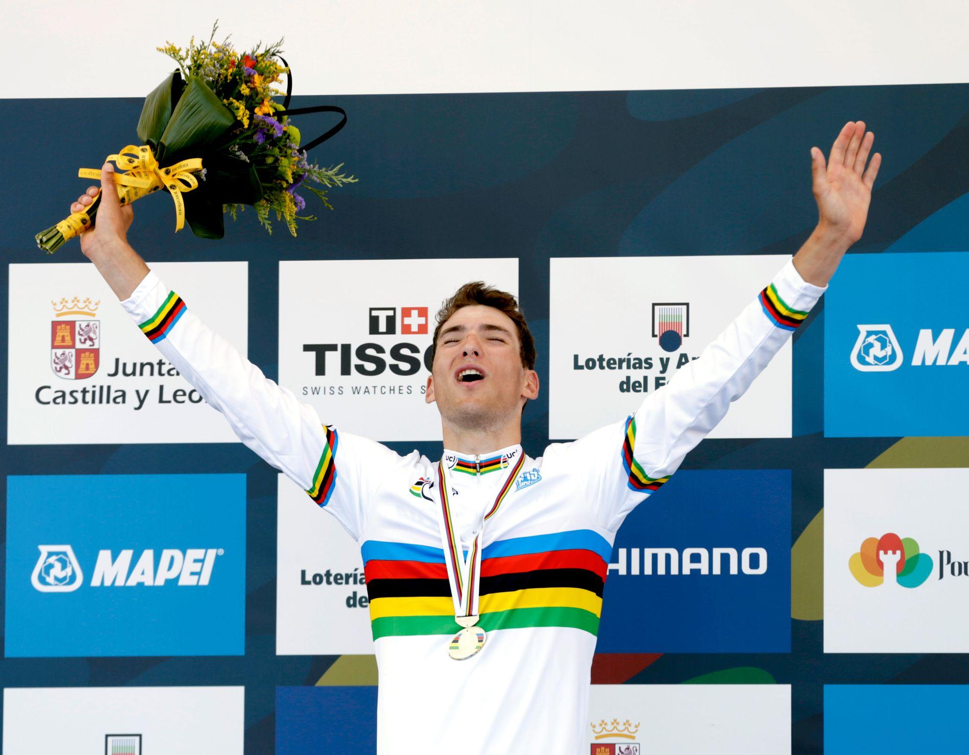 Sven Erik Bystrøm vant U23-VM i 2014. Det er et ritt mange storheter har vunnet.