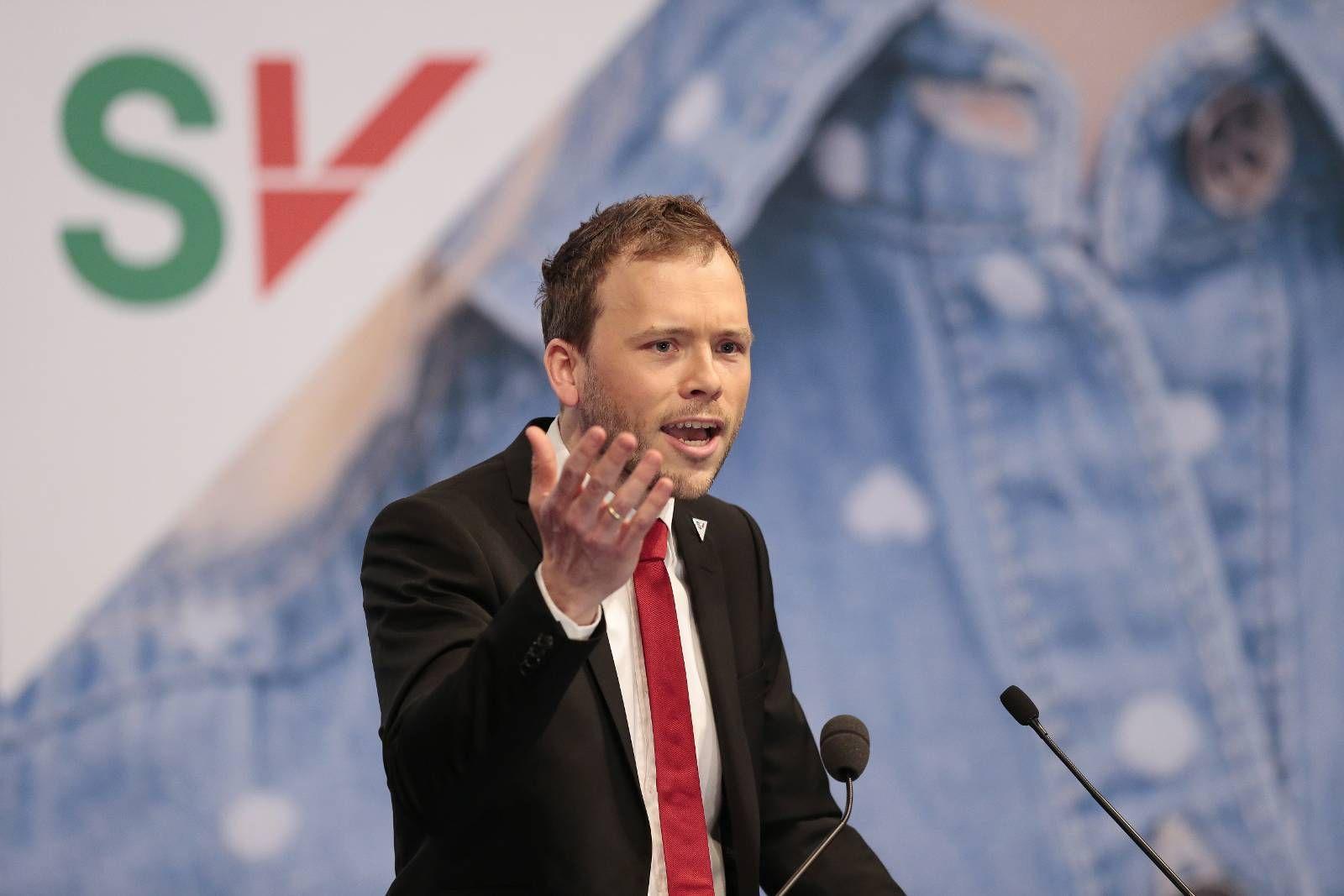 SISTEMANN?: Audun Lysbakken har en stri valgkamp. Han kjemper kanskje for å unngå å bli stående som SVs siste partileder.