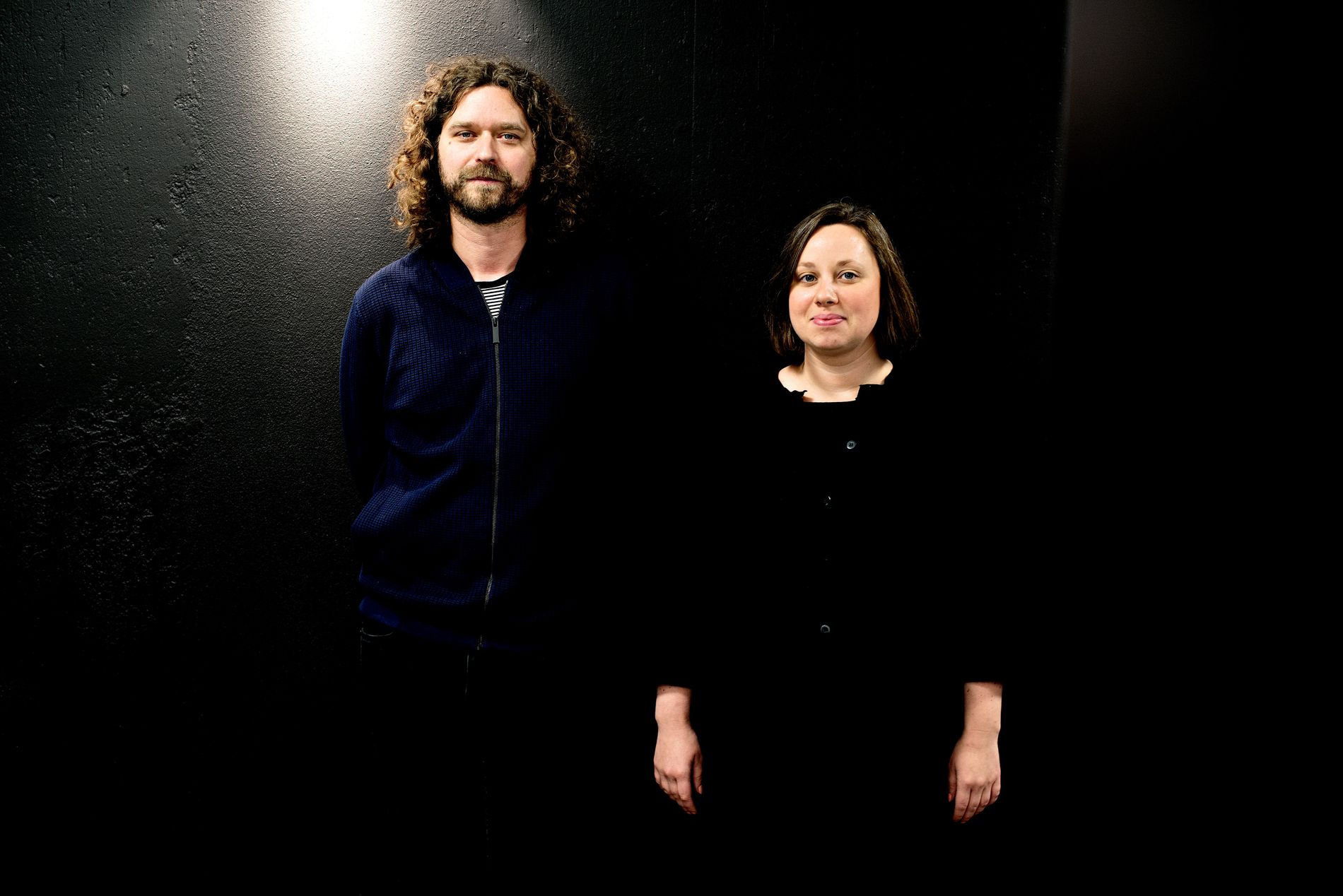 VIL HA KULTURHUS PÅ VERFTET: Ivar Vogt, sjef for USF, og Charlotte Spurkeland, sjef for  Kultur Vest.