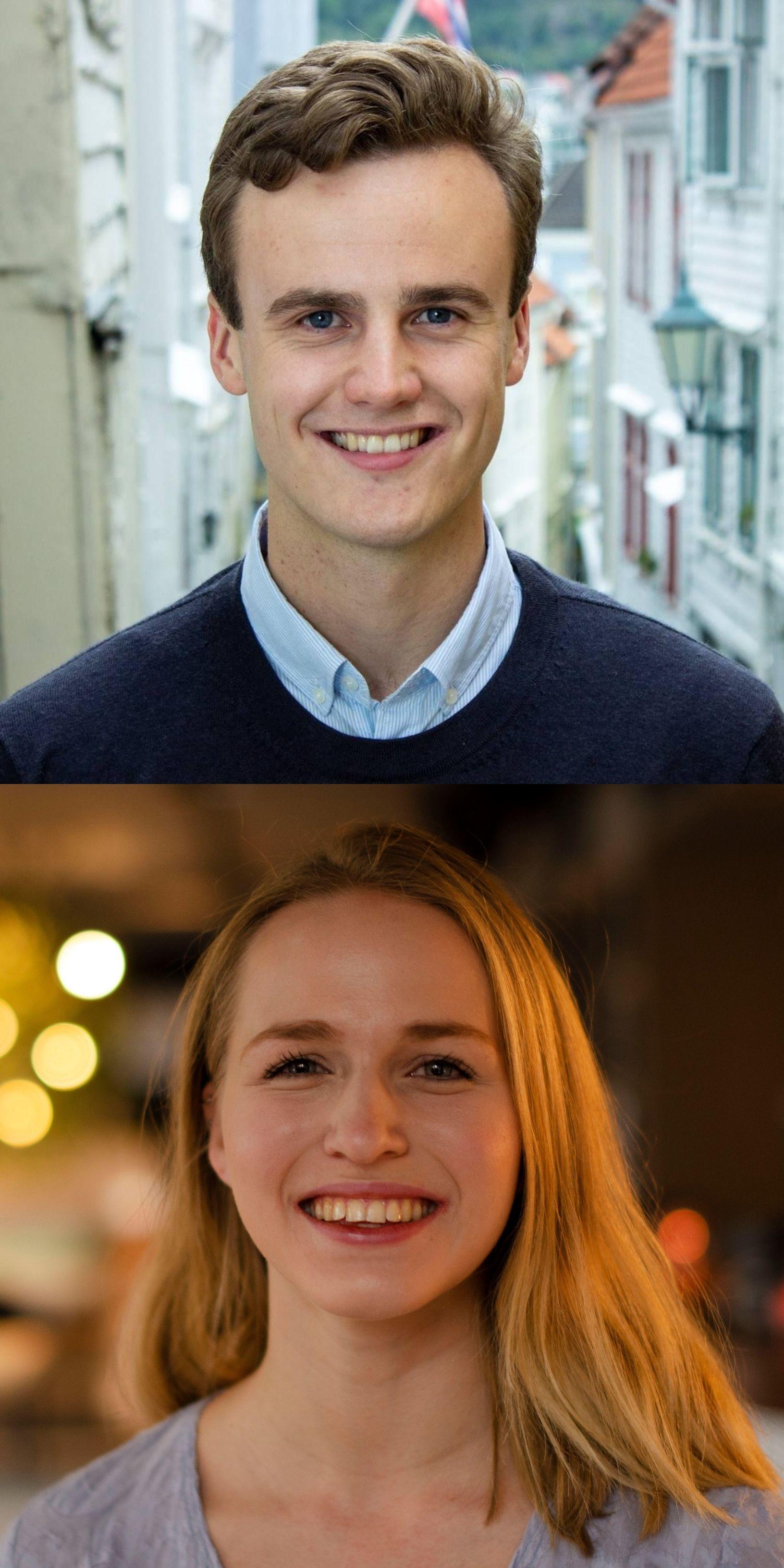 August Simonsen og Ane Breivik