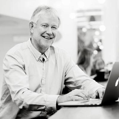 LYKKES: Arne Korkan mener Facebook har gode forutsetninger for å lykkes. FOTO: NTNU