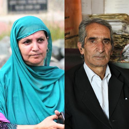 RAFTOPRISEN: De indiske menneskerettighetsforkjemperne Parveena Ahangar og Imroz Parvez er tildelt Raftoprisen 2017.