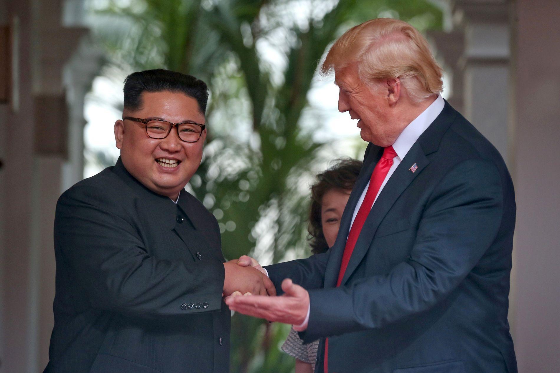 KIMS LEK: Donald Trump fekk skuffande lite ut av møtet med Nord-Koreas diktator, Kim Jong-un, skriv BT på leiarplass.