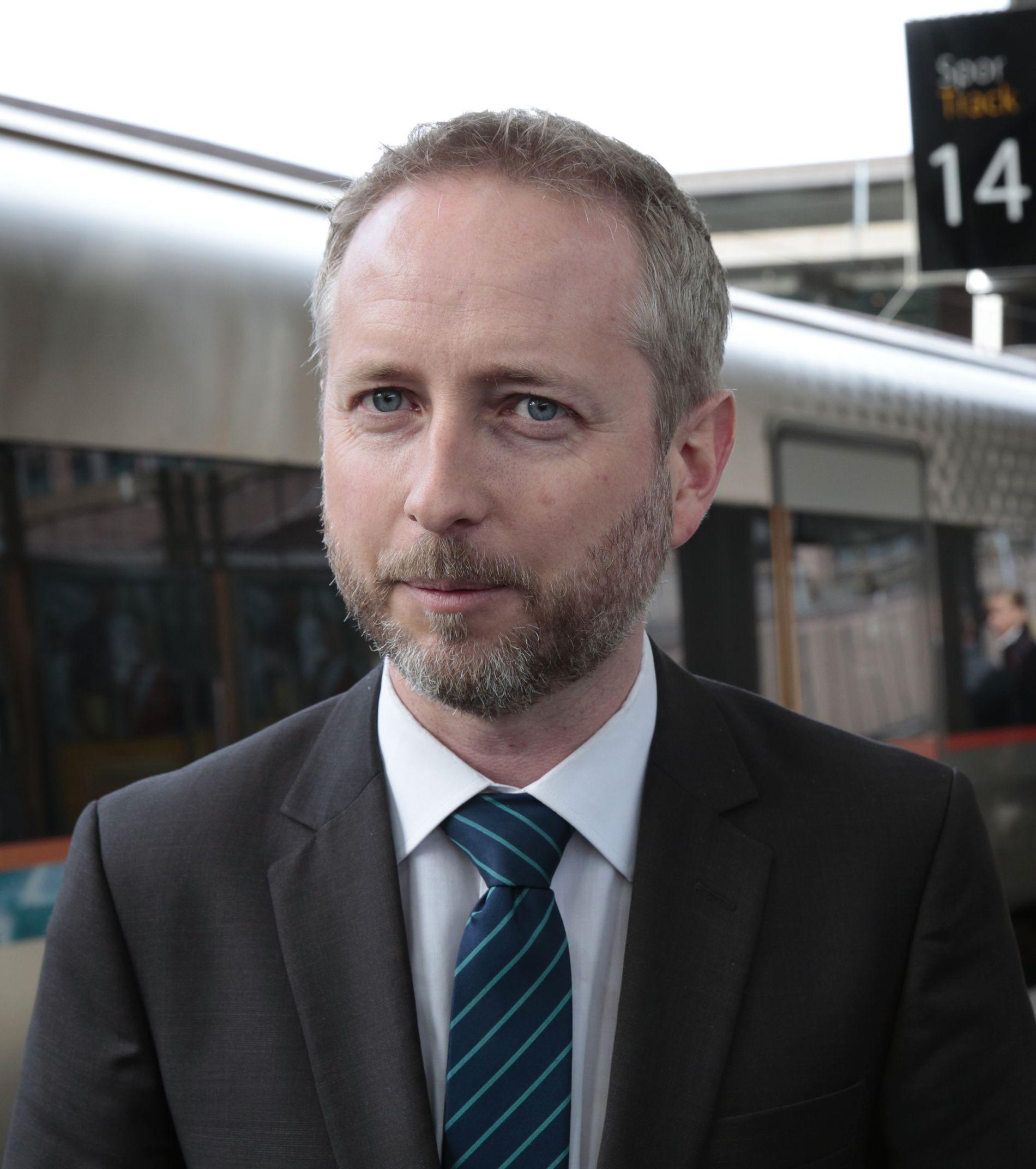 Stortingsrepresentant Bård Vegar Solhjell (SV).