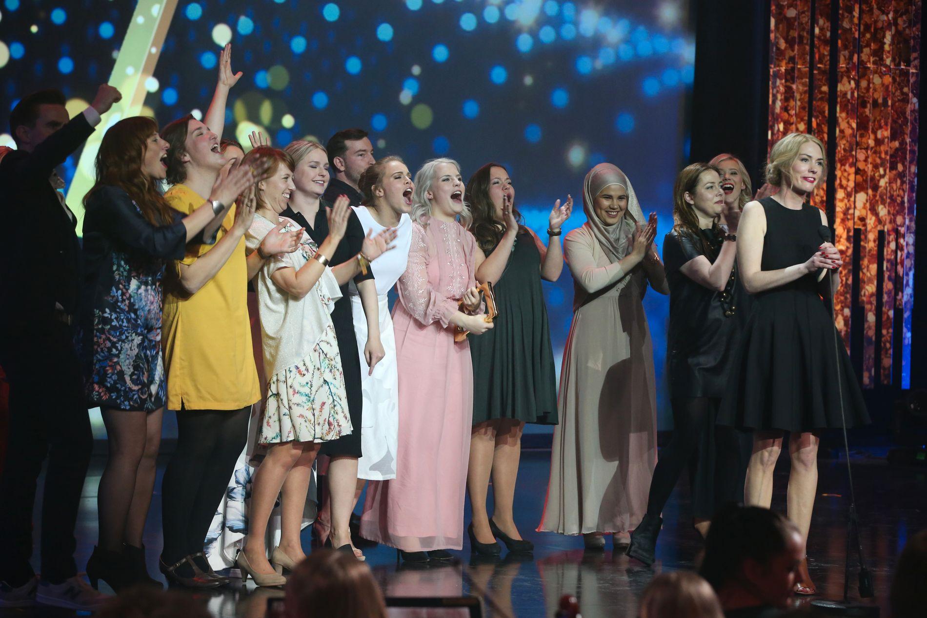 PRISVINNERE: «Skam» vant Gullrute for beste nye programserie